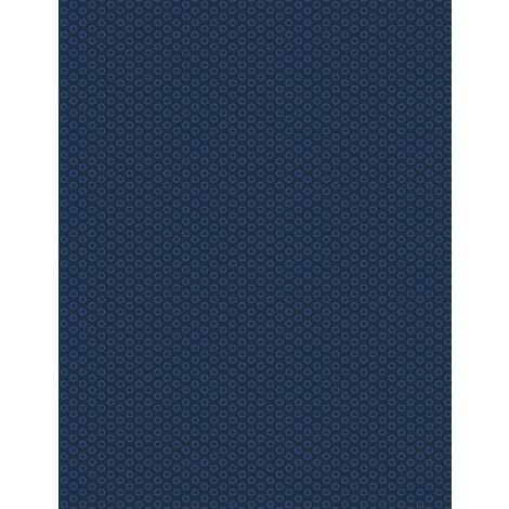 Essentials In The Navy by Wilmington Prints 1817 39092 444+