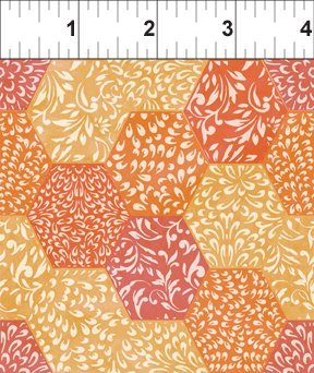 Ajisai by Jason Yenter for In The Beginning Fabrics  #5AJI2+