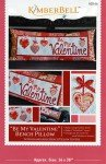 Be My Valentine Bench Pillow Pattern by Kimberbell  KD166+