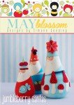 Jumbleberry Santas Pattern by Simone Gooding for May Blossom^