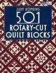 501 Rotary-Cut Quilt Blocks Book by Judy Hopkins - B971^