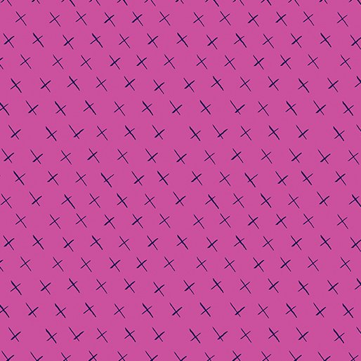 Modern Marks Crossmarks Pink by Contempo 04664 22+