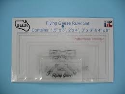 Bloc_Loc Flying Geese Ruler Set #1^
