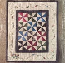 Pinwheel Garden #103 by Red Button Quilt Co