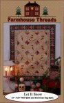 Let It Snow Pattern by Farmhouse Threads #906