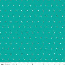 Autumn Love C7371-Teal^
