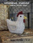 Chicken Pin Keep Pattern by Cottonwood Creations