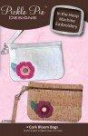 Cork Bloom Bags by Pickle Pie Designs^