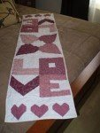 A Time For Love Table Runner Pattern by Bill Locke Designs^
