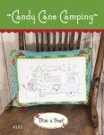 Candy Cane Camping Pattern by This and That 3335