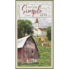 Farmstead Panel by Wilmington Prints +