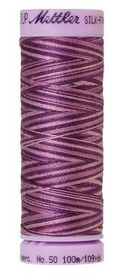Mettler 50W 109Y Var Silk Finish Cotton Thread 9838 Lilac Bouquet