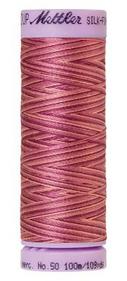 Mettler 50W 109Y Var Silk Finish Cotton Thread 9839 Pink Flox+
