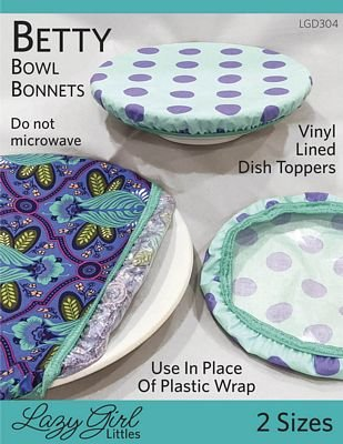 Betty Bowl Bonnets Pattern by Lazy Girl Designs +