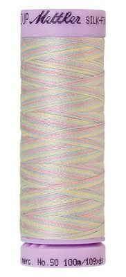 Mettler 50W 109Y Var Silk Finish Cotton Thread 9826 - Baby Blanket+