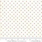 Sweet Tea Dot Vanilla Red By Sweetwater for Moda+