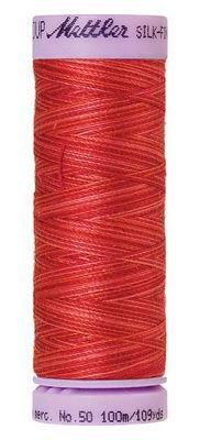 Mettler 50W 109Y Var Silk Finish Cotton Thread 9848 - Strawberry+