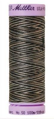 Mettler 50W 109Y Var Silk Finish Cotton Thread 9861 - Charcoal+