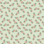 Bliss Floral Mint by My Minds Eye for Riley Blake C8161