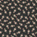 Bliss Floral Black by My Minds Eye for Riley Blake C8161