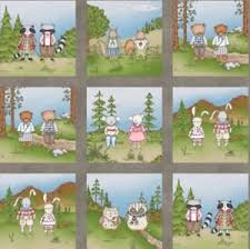 Forest Friends Panel