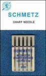 Schmetz Microtex Machine Needles Size 80/12