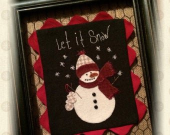 Let It Snow Pattern From My Red Door Designs+