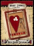 Heart Strings Pattern by My Red Door Designs+