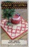 Tiny Dancer Pattern Red/Cream Version - Primitive Gatherings+