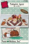 Pumpkin Spice Tablerunner Wool Kit by PatchAbilities, Inc P166W+