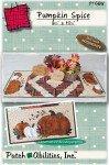 Pumpkin Spice Tablerunner Wool Kit by PatchAbilities, Inc P166W