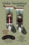 Winter Wonderland Stockings Pattern by All Through The Night