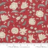 Chafarcani Floral on Red Background #13853 11+