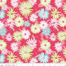 Paper Daisies C8880 DkPink by Sue Daley+