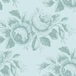 Tilda Old Rose Collection MaryTeal TIL100207 +