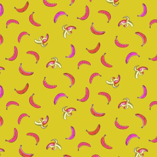 Monkey Wrench Don't Slip - Mango by Tula Pink PWTP136.MANGO+