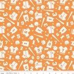 SALE Play Ball by Riley Blake C4311 - Orange^