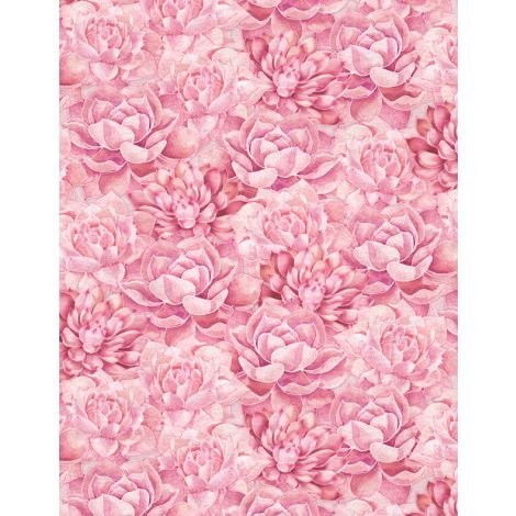 Botanical Oasis Pink Floral by Anne Rowan 3007-68519-333+