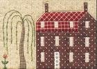 Quilted Village BOTM #8 Three Story with Dormers by The City Stitcher