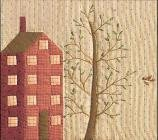 Quilted Village BOTM #10 Apartment House by The City Stitcher