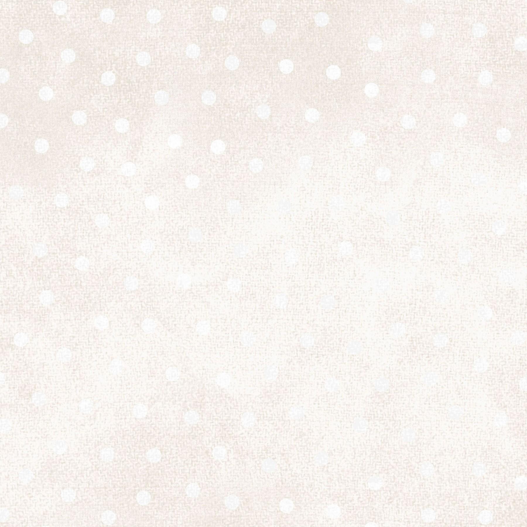 Woolies Flannel White/Cream Dot by Maywood Studio