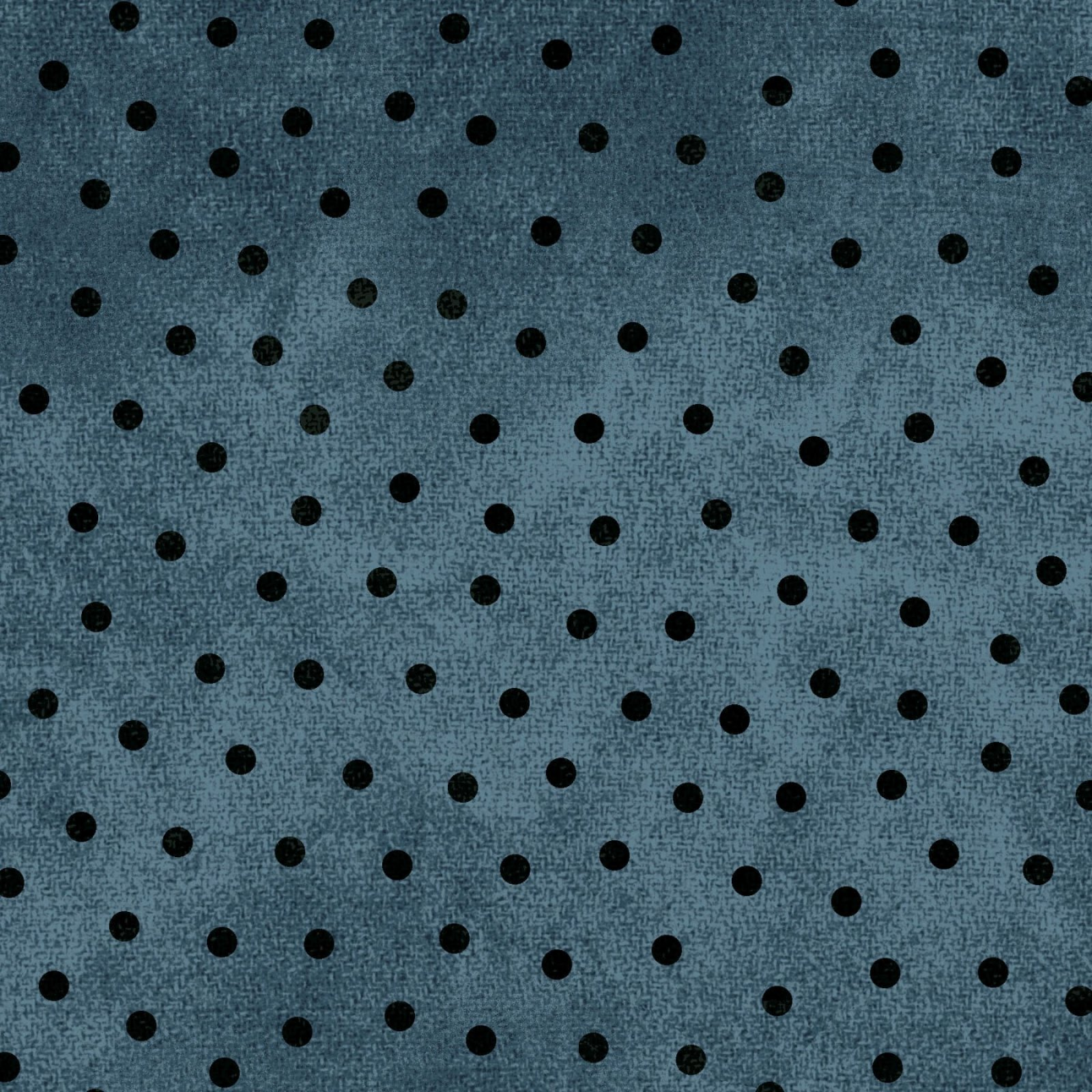 Woolies Flannel Blue/Black Dot by Maywood Studio MASF18506-B