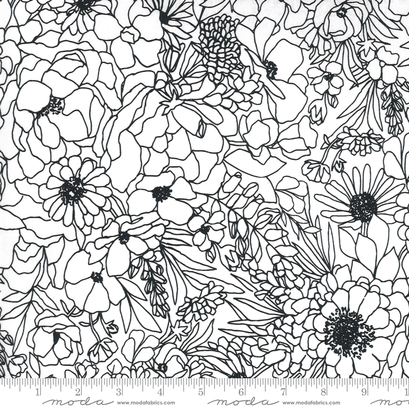 Illustrations Paper Floral #11501-11 by Moda