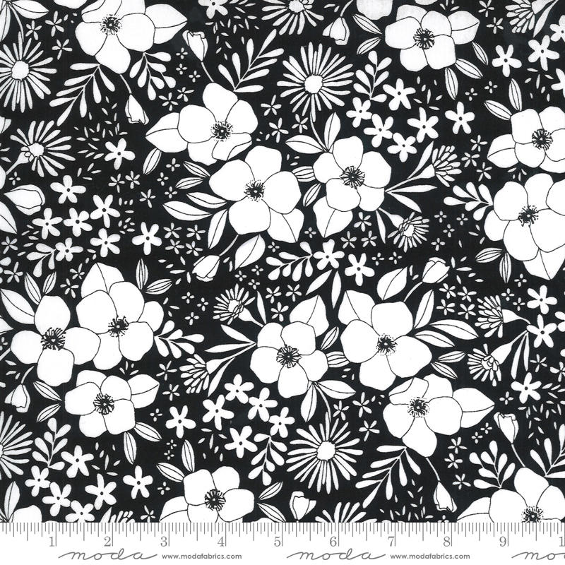 Illustrations Ink Floral #11503-15 by Moda