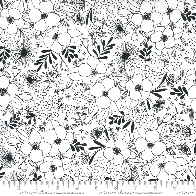 Illustrations Paper Floral #11503-11 by Moda