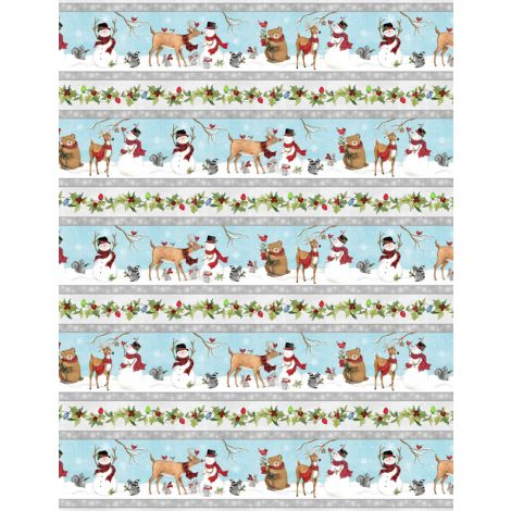 Nose to Nose by Wilmington Prints Border Print 3023 39686 914