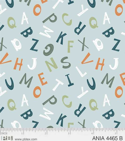 Animal Alphabet Small Alphabet ANIA #04465 B