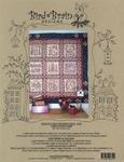 Home & Heart Blackwork Quilt Machine Embroidery+
