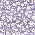Bon Voyage Paperflower Blue by Tilda Fabrics TIL100247