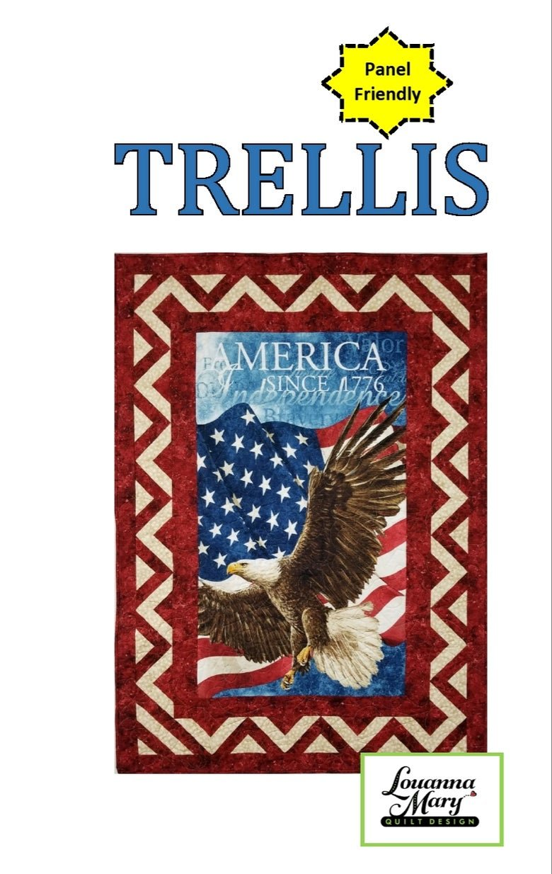 Trellis Pattern by Louanna Mary Quilt Designs
